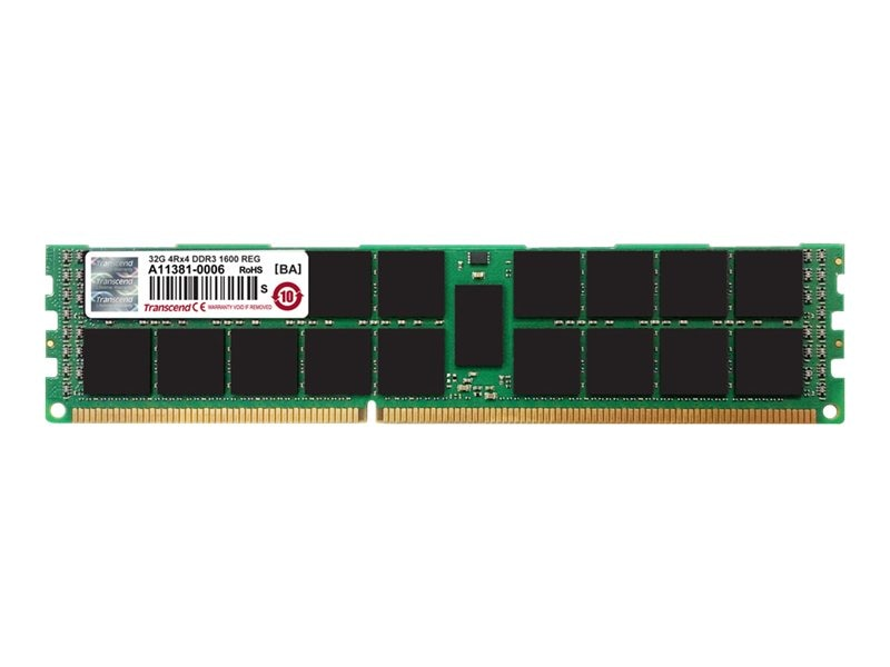 Transcend 128GB PC3-12800 240-pin DDR3 SDRAM DIMM Kit for Apple Mac Pro (Late 2013)