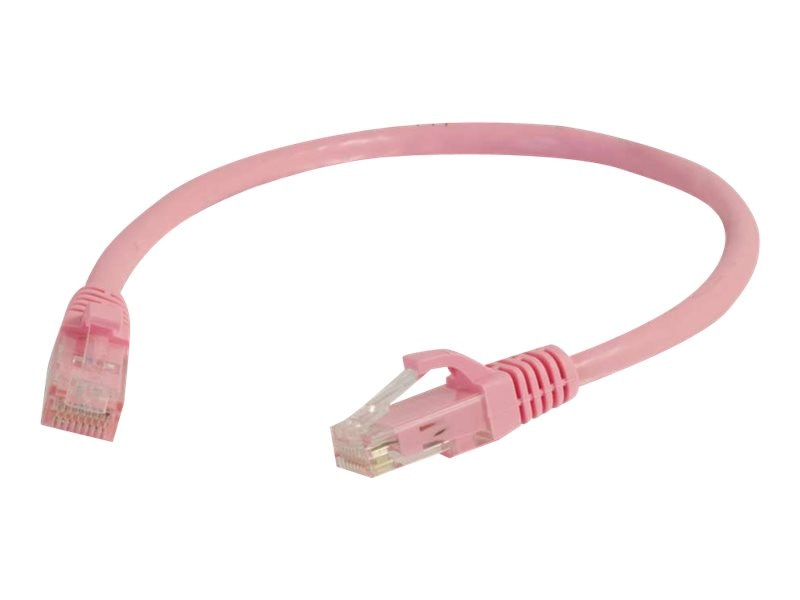 C2G Cat5e Snagless Unshielded (UTP) Network Patch Cable - Pink, 6