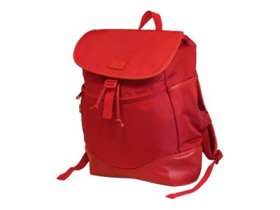 Mobile Edge Sumo Combo Laptop Backpack for 14.1 PC 15 MacBook, Red