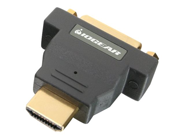 IOGEAR HDMI (M) to DVI (F) Adapter, GHDMDVIF, 13144994, Adapters & Port Converters