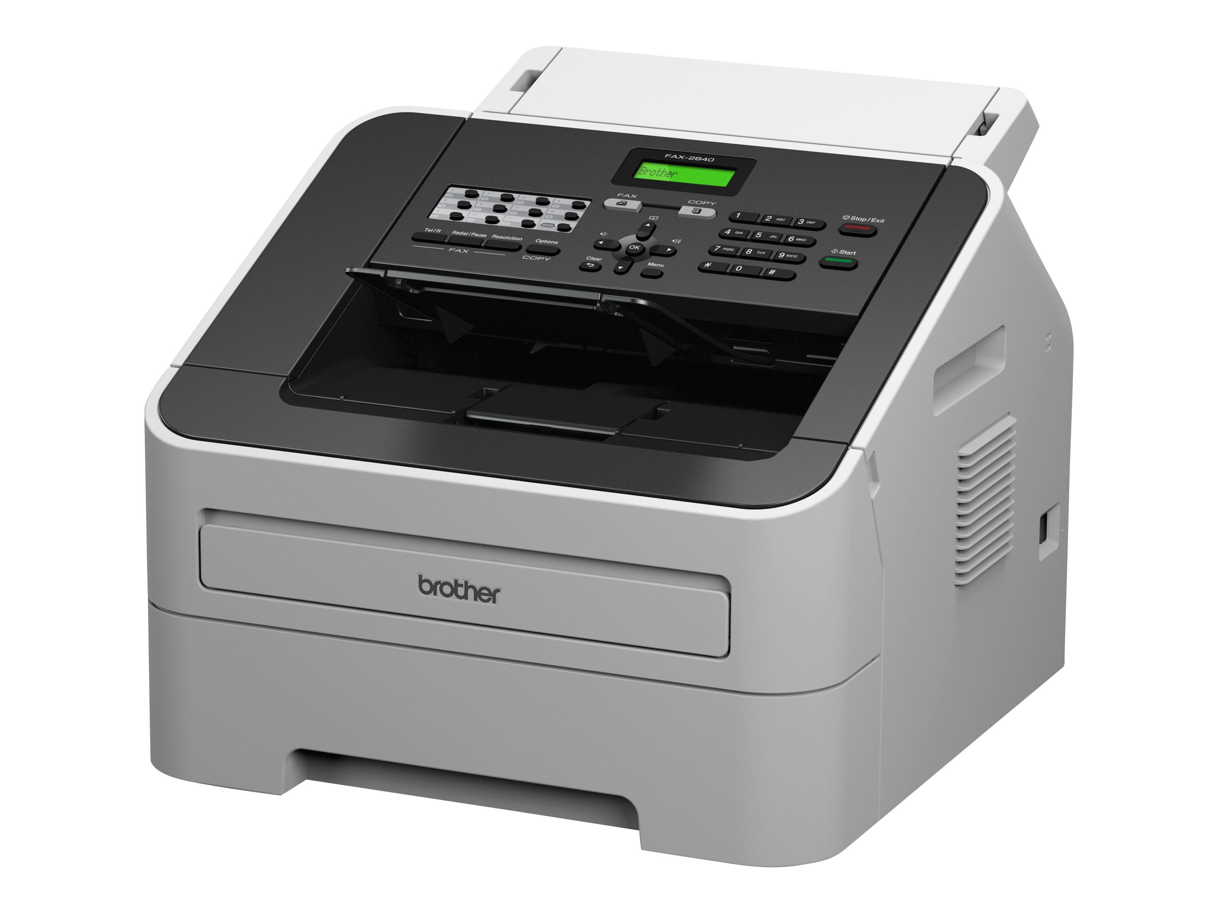 Brother IntelliFax-2840 High-Speed Laser Fax, FAX-2840, 15483594, Fax Machines