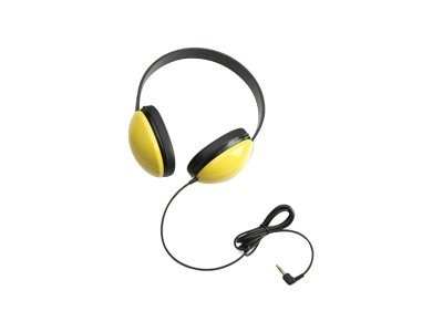Califone Listening First Stereo Headphone - Yellow