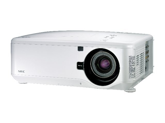 NEC NP4100W DLP Professional Integration Projector with 09ZL Lens, 5500 Lumens, NP4100W-09ZL