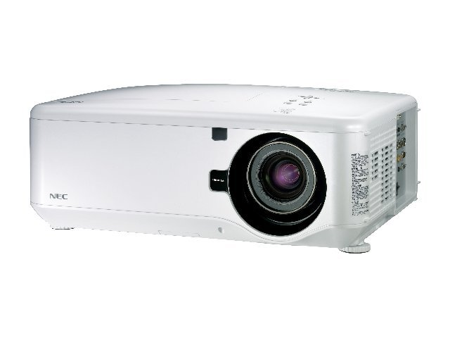 NEC NP4100W DLP Professional Integration Projector with 09ZL Lens, 5500 Lumens, NP4100W-09ZL, 10249061, Projectors