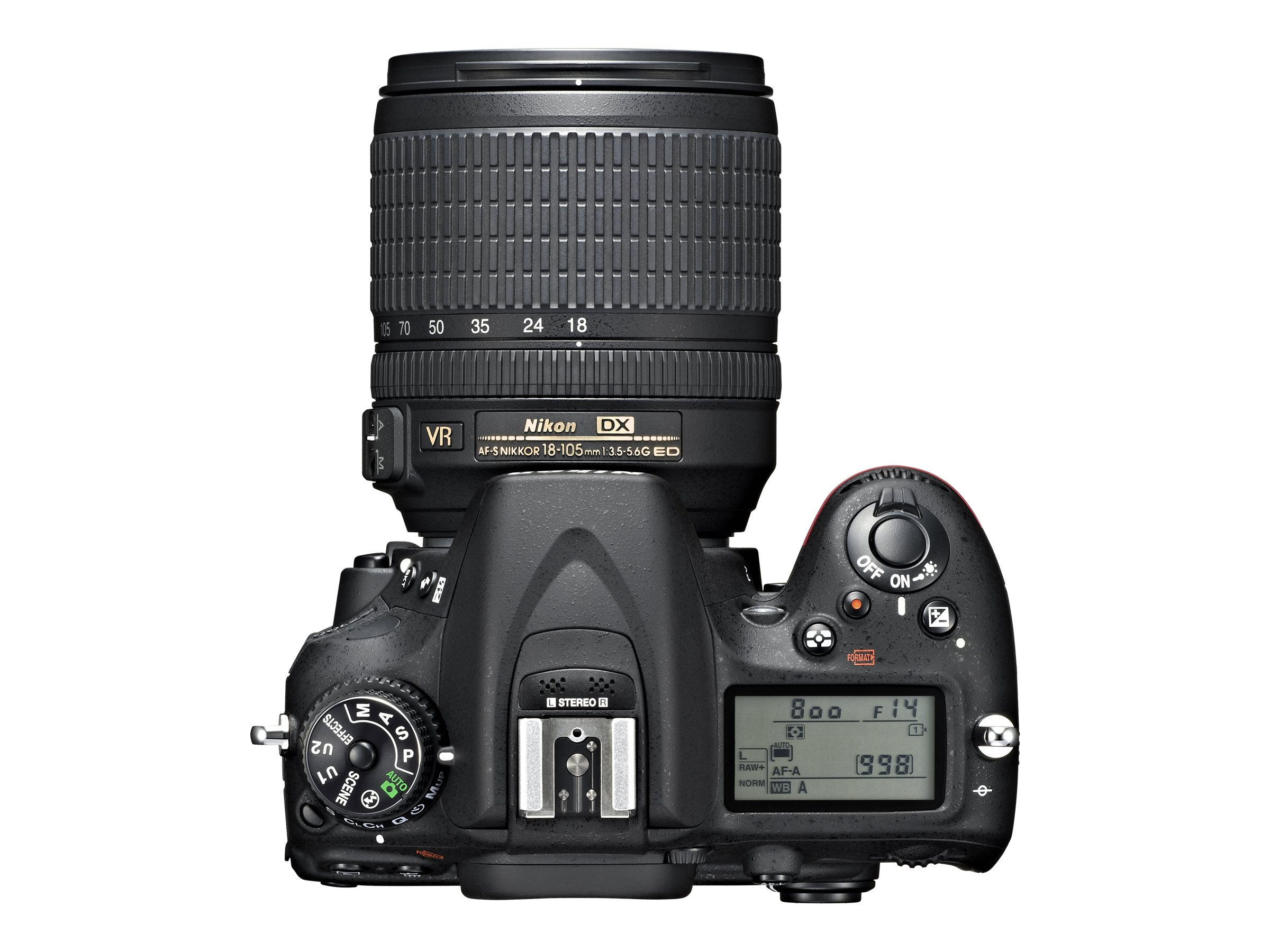 Nikon D7100 DSLR Camera Kit w  18-105mm f 3.5-5.6G ED VR DX Lens, Battery & Charger, 1515