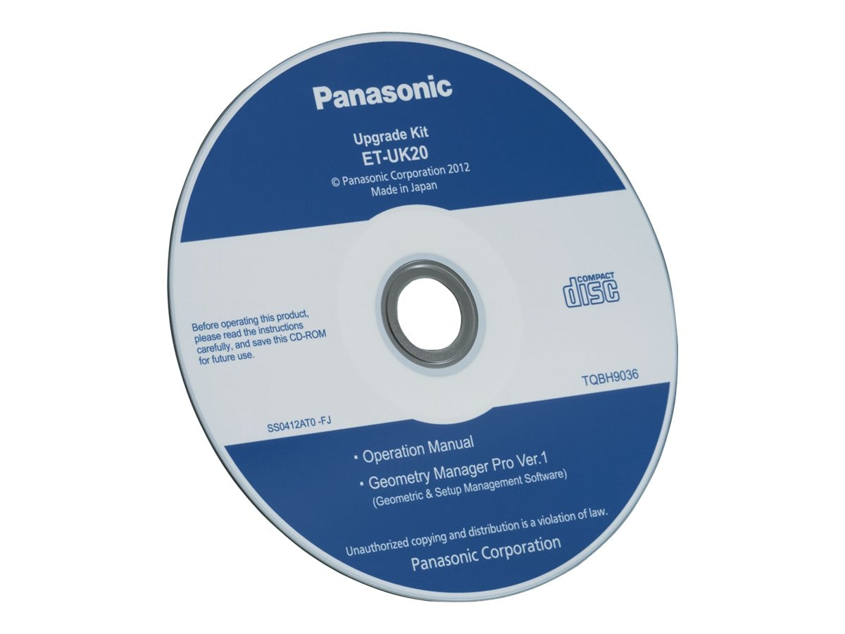 Panasonic Upgrade Kit with Geometry Manager Pro for PTDZ21K, ETUK20