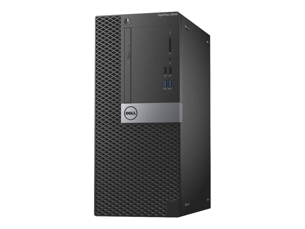 Dell OptiPlex 3040 MT Core i3 4GB 500GB DVD-RW W7P, CW1FR, 30983124, Desktops