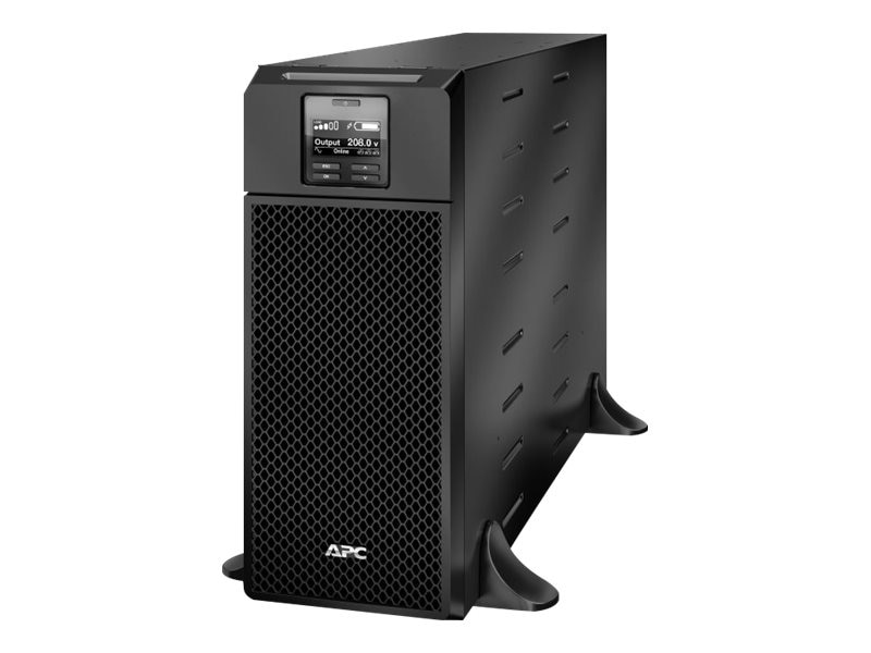 APC Smart-UPS SRT 6000VA 6000W 208V Tower Online UPS HW Input HW+ (2) L6-20R (3) L6-30R, SRT6KXLT, 18358895, Battery Backup/UPS