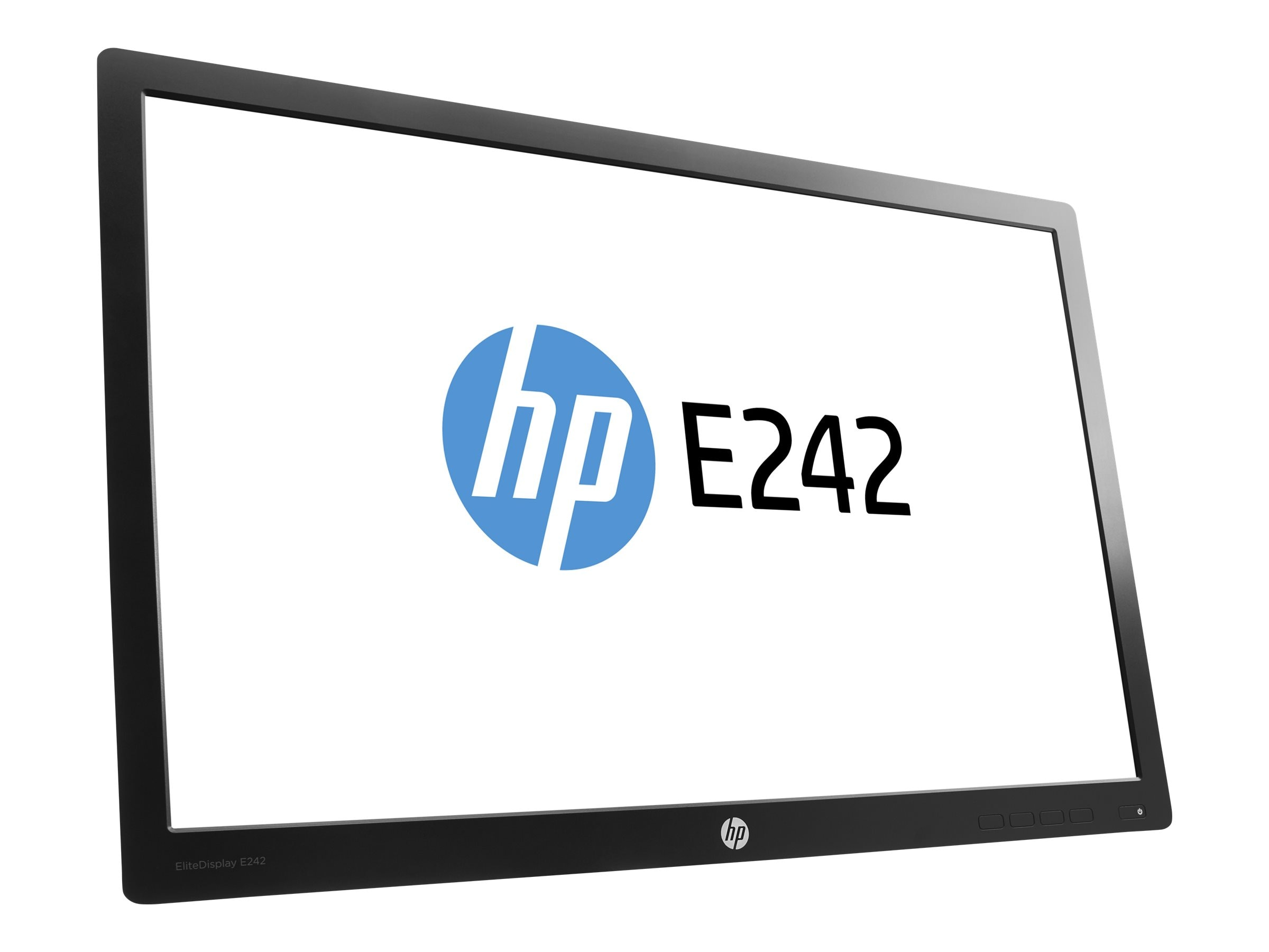 HP 24 E242 Full HD LED-LCD Monitor, Black (Head Only), N0Q25AA#ABA