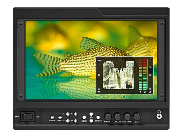 Marshall Electronics 9 V-LCD90MD-3G On-Camera Monitor with HDMI and 3G-SDI Input Module