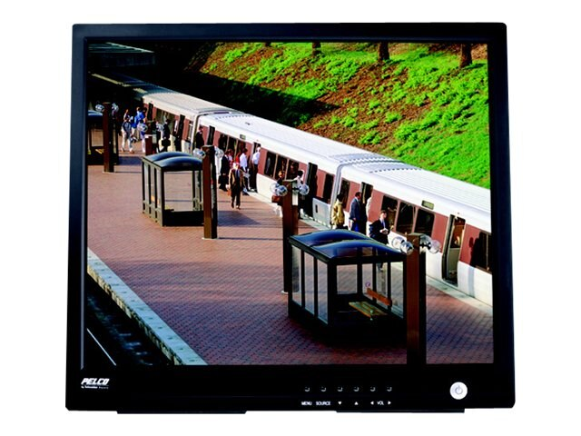 Pelco 19 PMCL400 LCD Monitor, Black, PMCL419HB, 29659984, Monitors - LCD