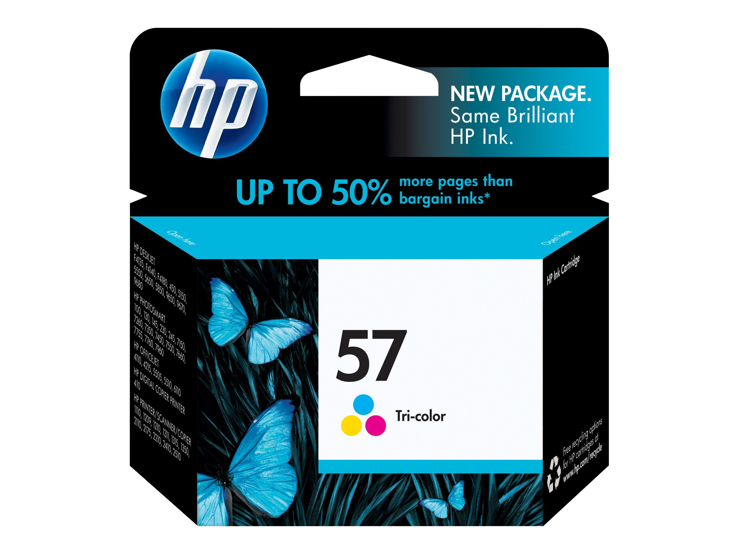 HP 57 (C6657AN) Tri-color Original Ink Cartridge