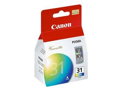 Canon Color CL-31 FINE Ink Cartridge for PIXMA iP1800 Printers, 1900B002