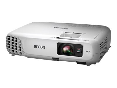 Epson PowerLite Home Cinema 600 3LCD Projector, 3000 Lumens, White, V11H617320, 18532283, Projectors