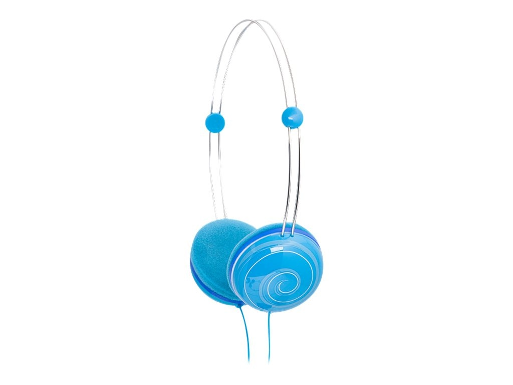 Ifrogz Animatones Volume Limiting Headphones for Kids, Blue Snail, IF-ANH-SNL, 20277277, Headphones