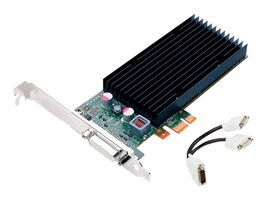 PNY NVS 300 X1 PCIe Graphics Card, 512MB DDR3, VCNVS300X1-PB, 12302495, Graphics/Video Accelerators