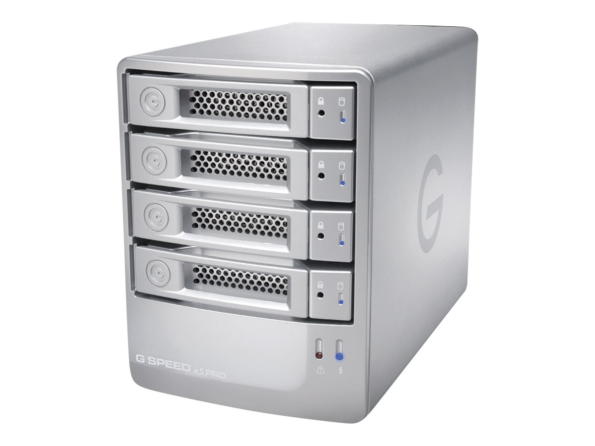 G-Technology 32TB G SPEED eS Pro Storage - Silver, 0G04019, 30535671, Hard Drives - External