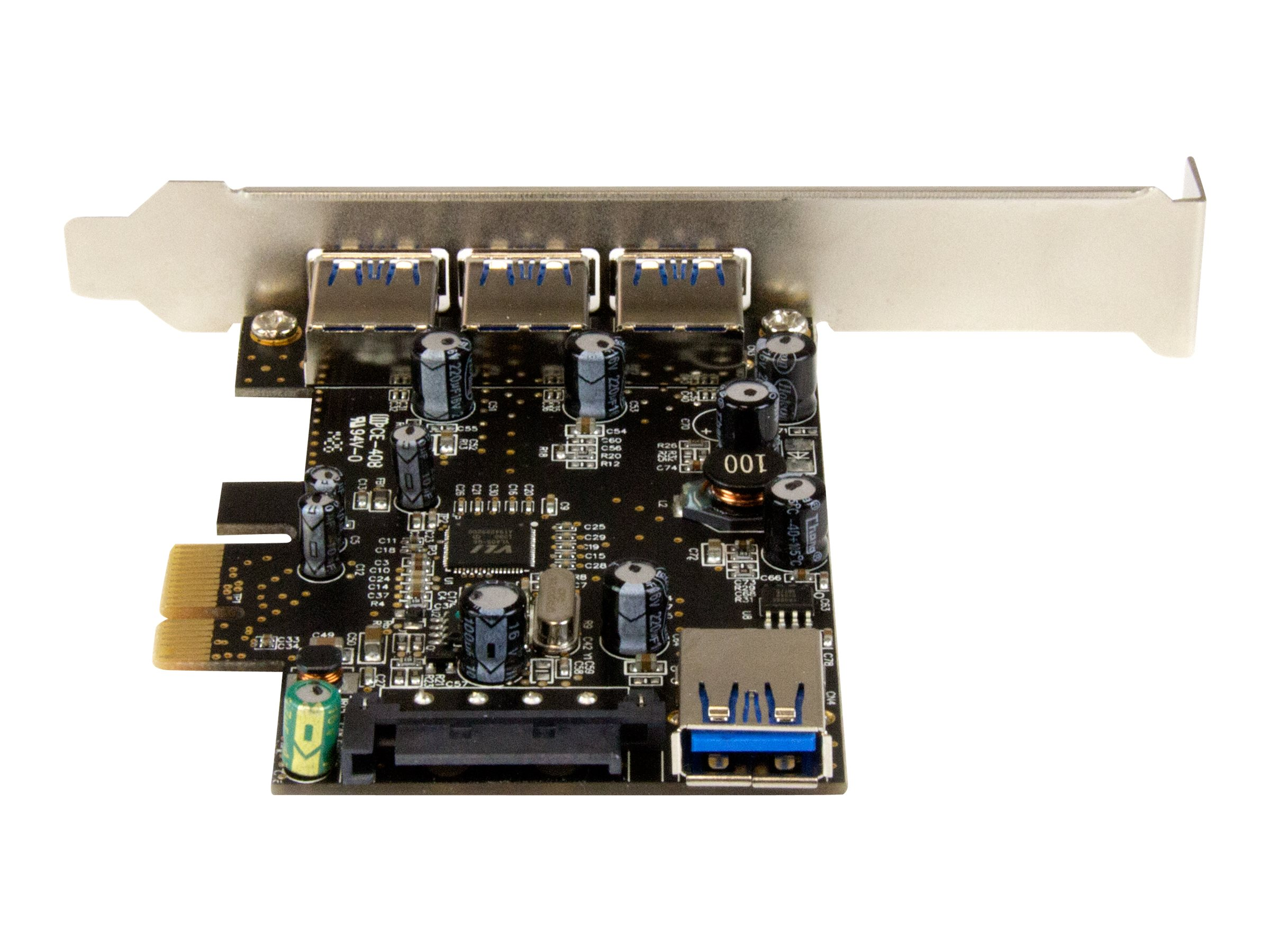 StarTech.com 4-port PCI Express USB 3.0 Card, PEXUSB3S42