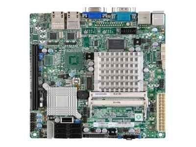 Supermicro Motherboard, Intel ICH9R, Atom D510, MITX, Max 4GB DDR2, PCIEX4, 2GBE, Video, SATA, MBD-X7SPA-H-O, 11209985, Motherboards