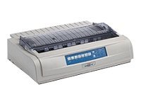 Oki Microline 491n Dot Matrix Printer - Beige, 62419003, 6983378, Printers - Dot-matrix