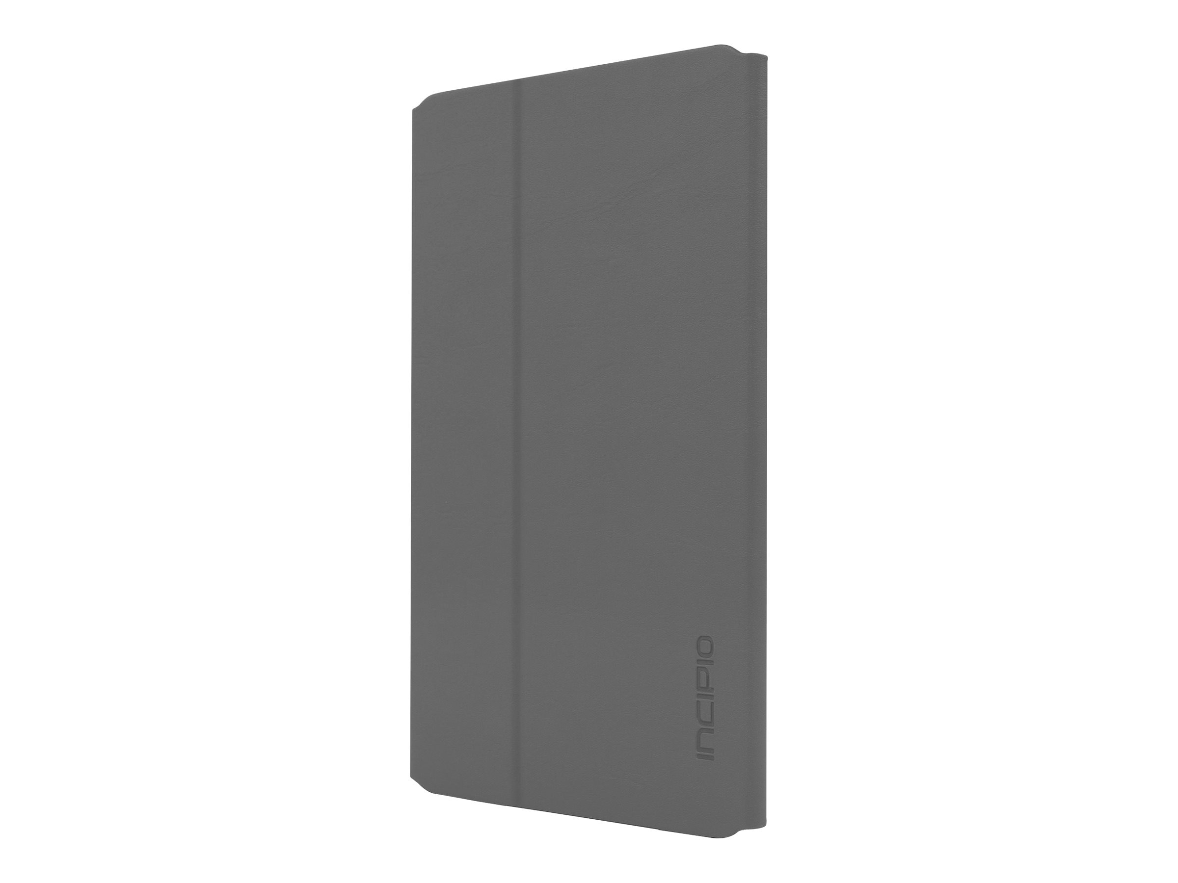 Incipio Faraday Folio Case w  Magnetic Fold-over Closure for iPad mini 4, Gray