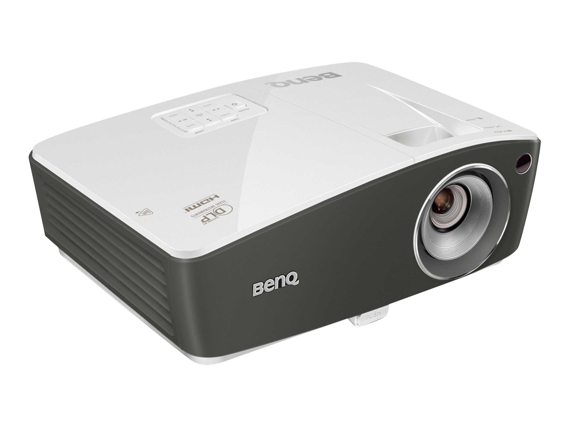 Benq TH670 1080P DLP Projector, 3000 Lumens, White Gray, TH670