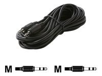 Steren Steren 2.5mm (M-M) Dubbing Cable, Black, 6ft, 252-606, 9527001, Cables