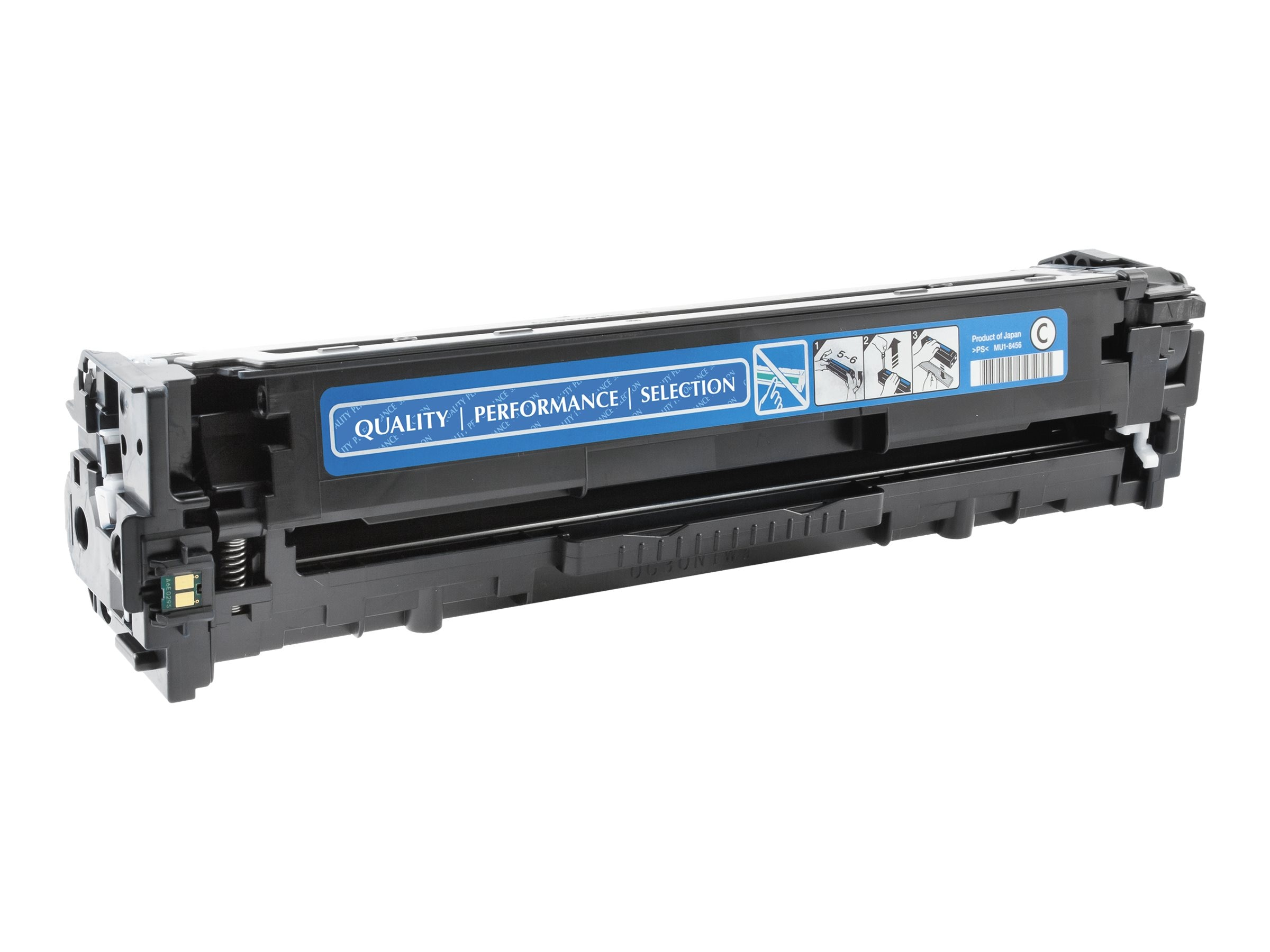 V7 CE321AG Cyan Toner Cartridge for HP Color LaserJet Pro CM1415 & CP1525, V71415C