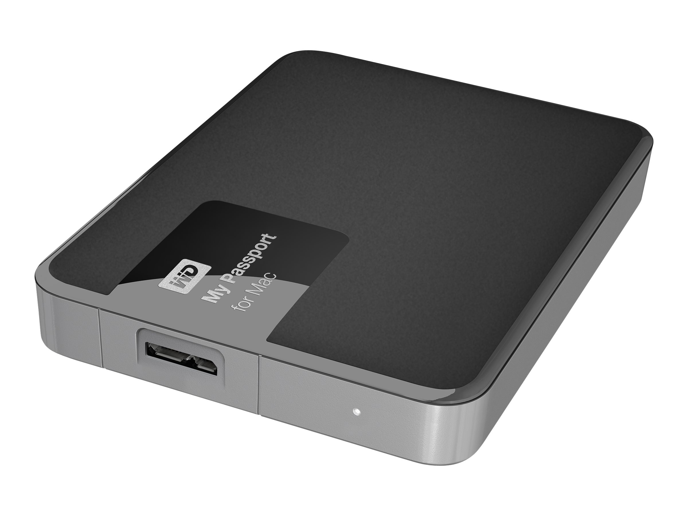 WD 2TB My Passport for Mac USB 3.0 Portable Hard Drive, WDBCGL0020BSL-NESN, 22158984, Hard Drives - External