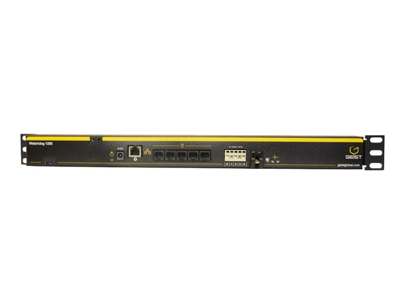 Geist WATCHDOG 1200 Climate Monitoring, US Power Supply, G1604P, 20935794, Rack Mount Accessories