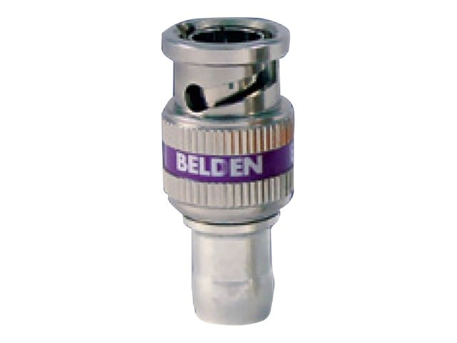 Belden HD BNC Compression Connector for 22-24 AWG Mini RG59 Coax, 1855ABHD1, 28666218, Cable Accessories