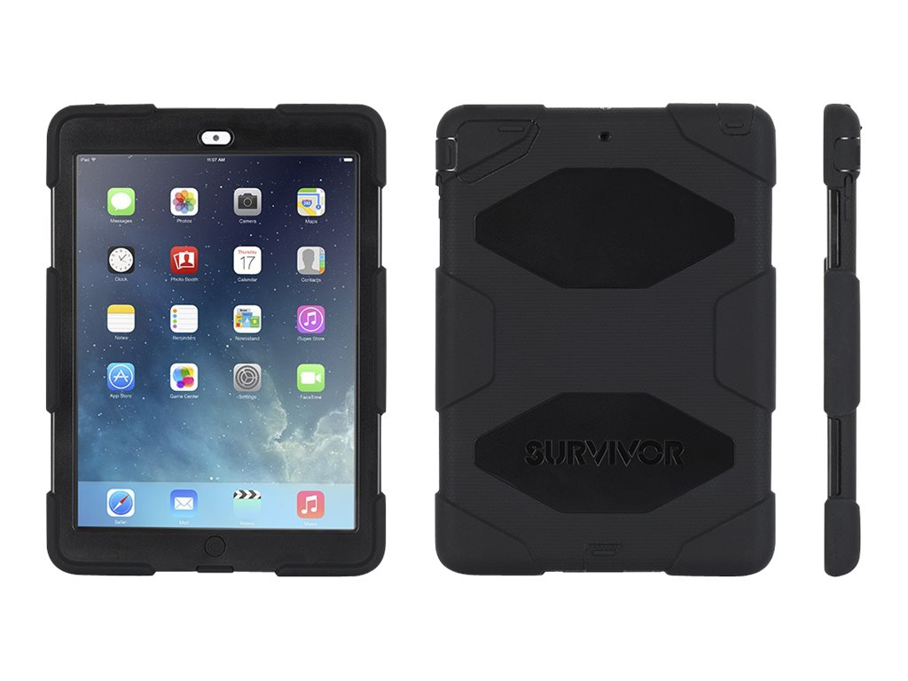 Griffin Survivor All-Terrain for iPad Air, Black