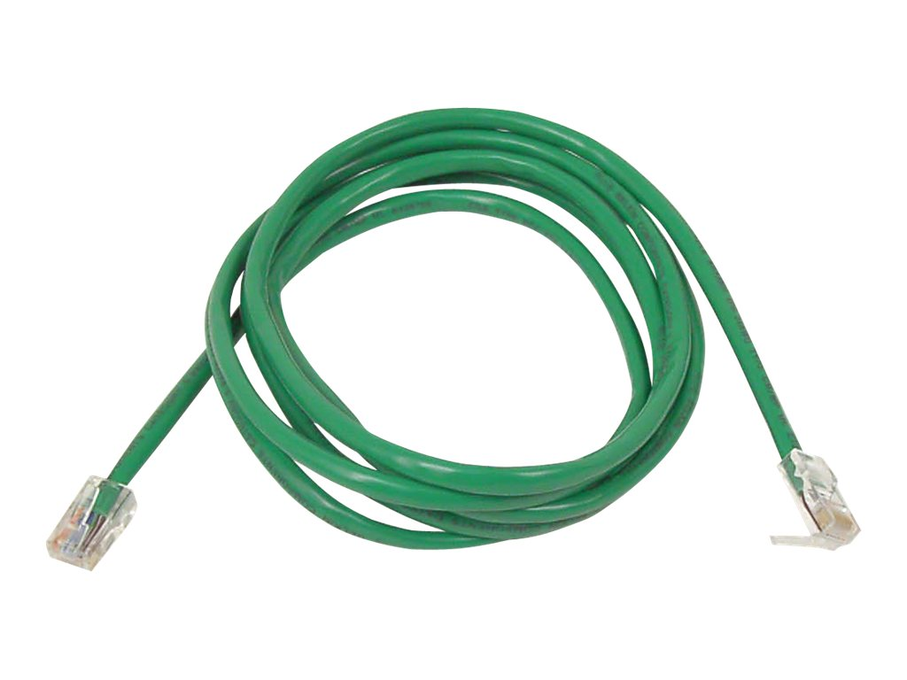 Belkin Cat5e Patch Cable, Green, 4ft, Snagless, A3L791-04-GRN-S