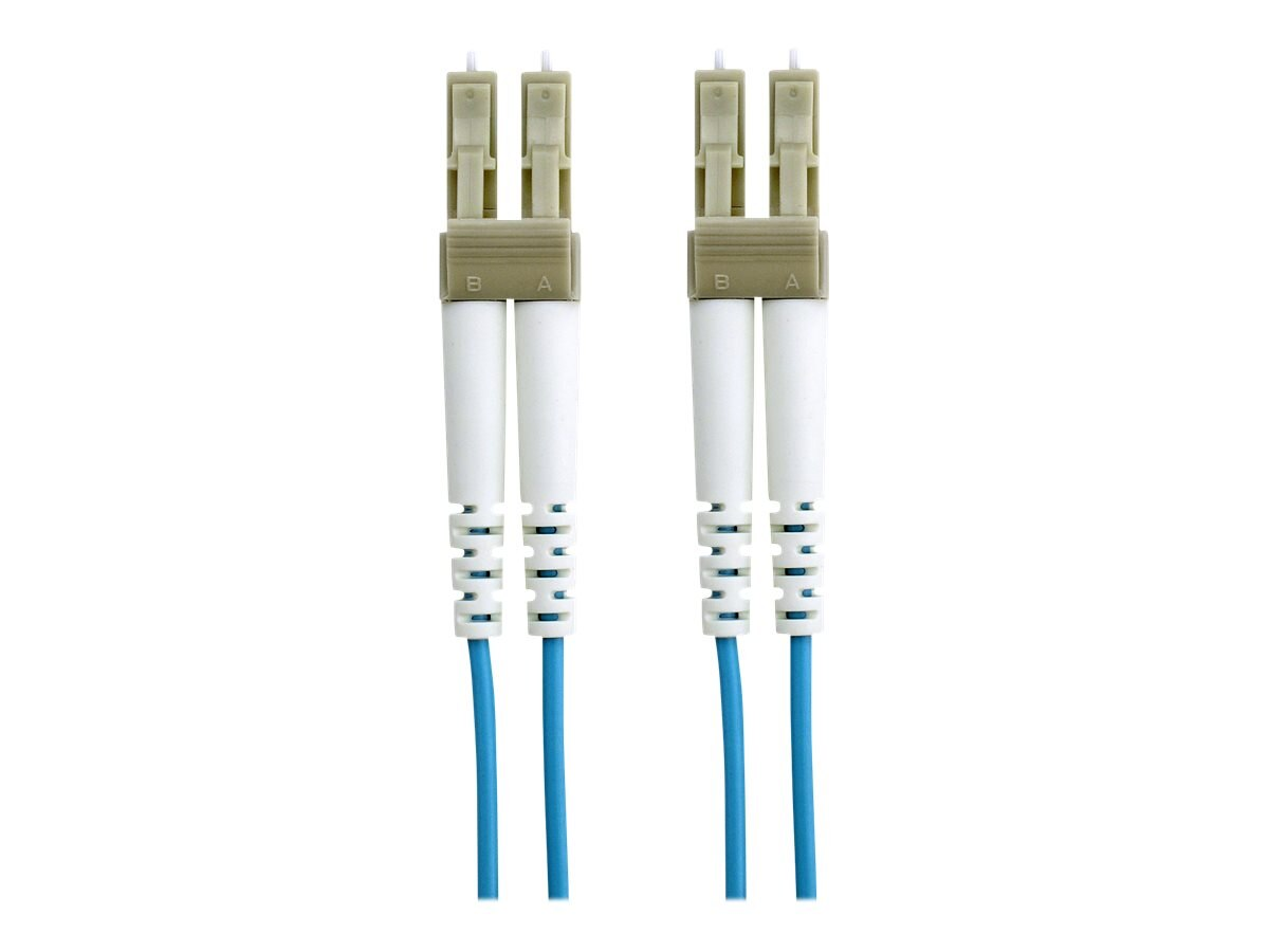 Belkin Fiber Patch Cable, 10Gb, 50 125, LC LC, Aqua, 10m, F2F402LL-10M-G, 7201075, Cables