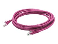 ACP-EP CAT6A UTP Patch Cable, Pink, 6ft, ADD-6FCAT6A-PINK, 18181129, Cables