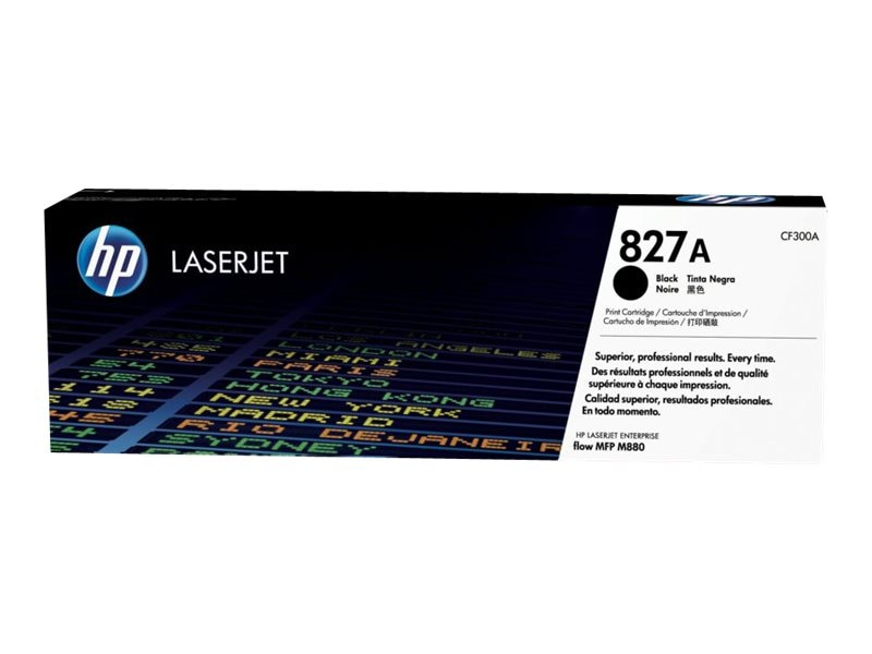 HP 827A (CF300A) Black Original LaserJet Toner Cartridge