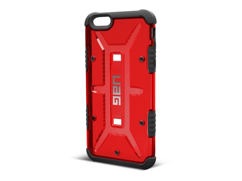 Urban Armor Case for iPhone 6 6S Plus, Magma, UAG-IPH6/6SPLS-MGM-VP, 30006462, Carrying Cases - Phones/PDAs