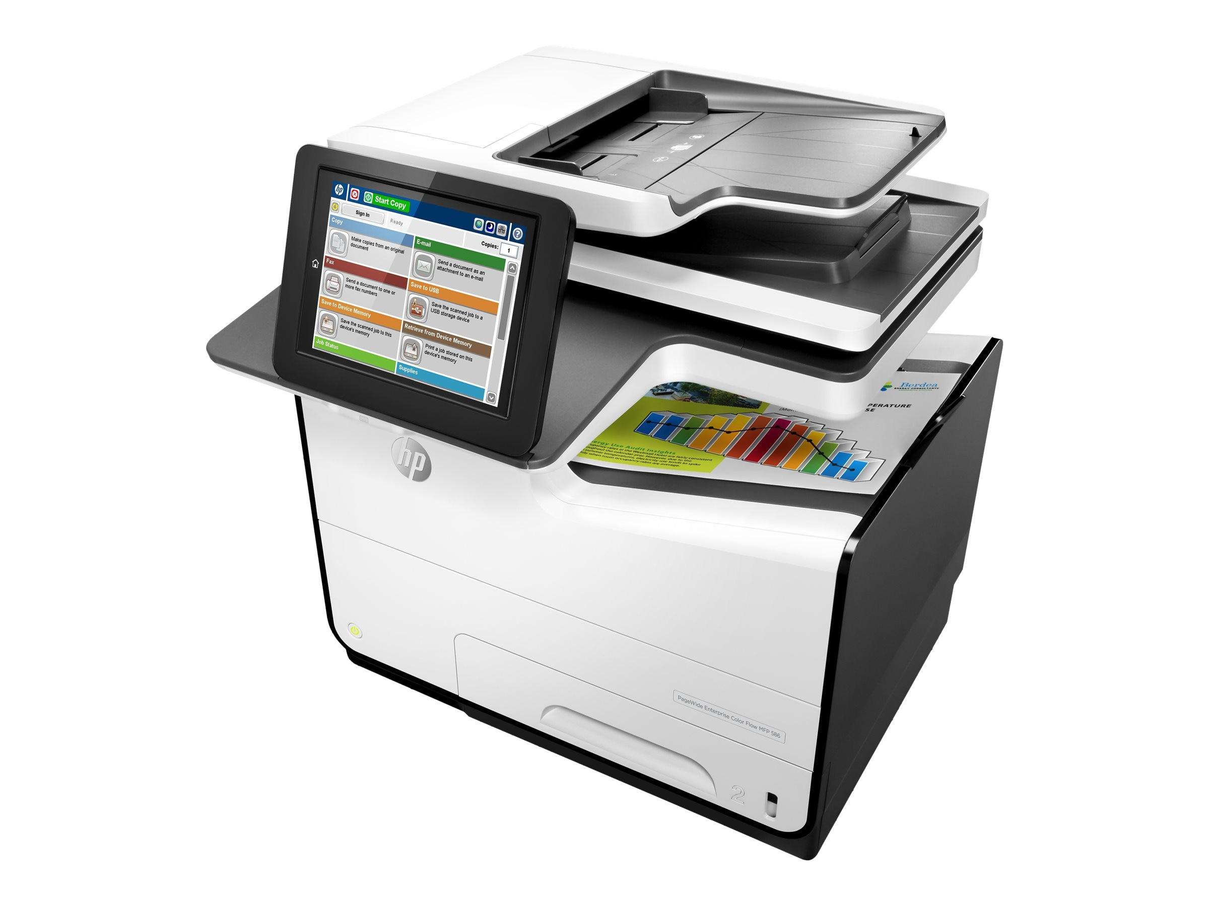 HP PageWide Enterprise Color Flow MFP 586z, G1W41A#BGJ