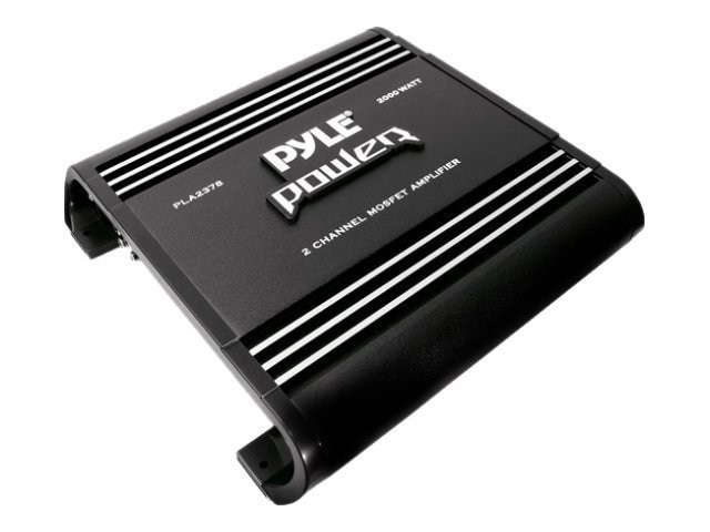 Pyle 2 Channel 2000 Watt Bridgeable Amplifier, PLA2378