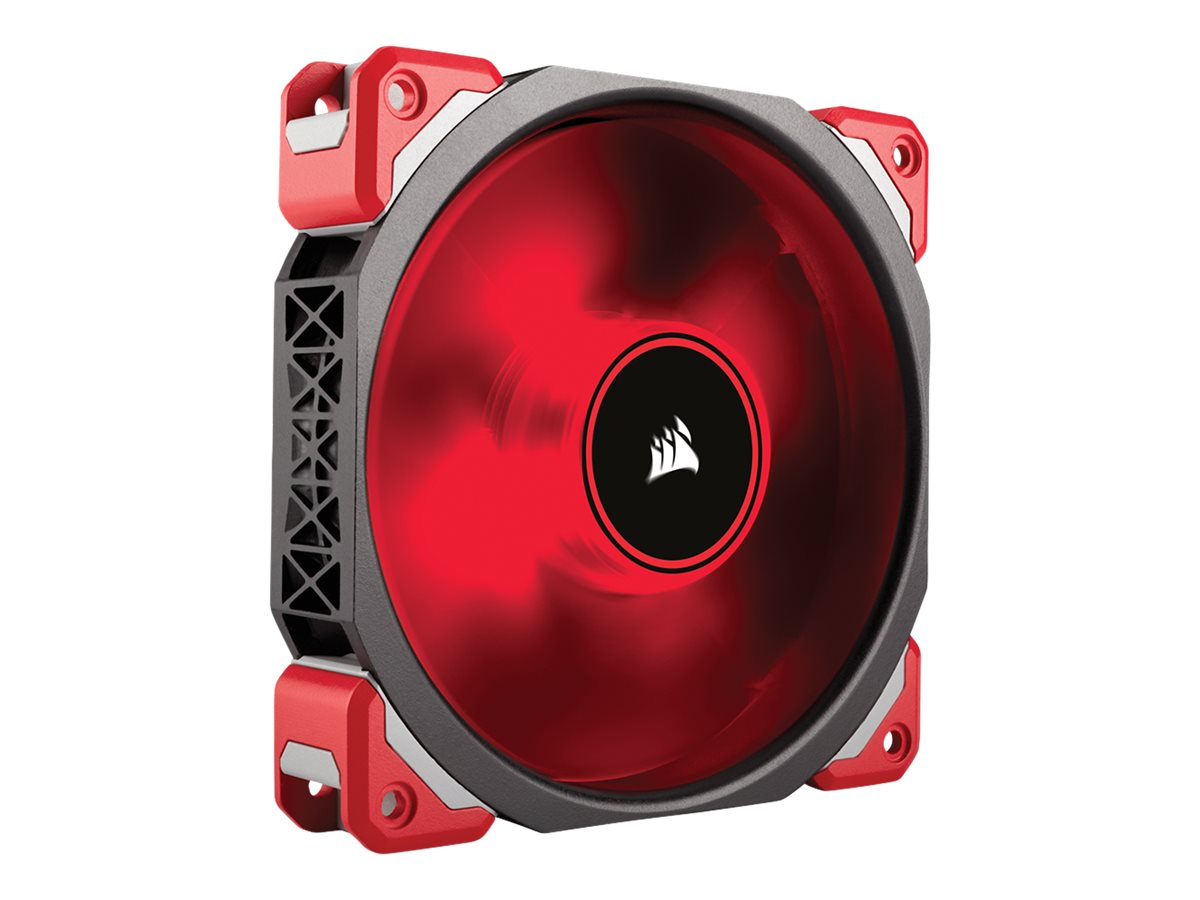 Corsair ML120Pro LED 120mm Levitation Fan, Red