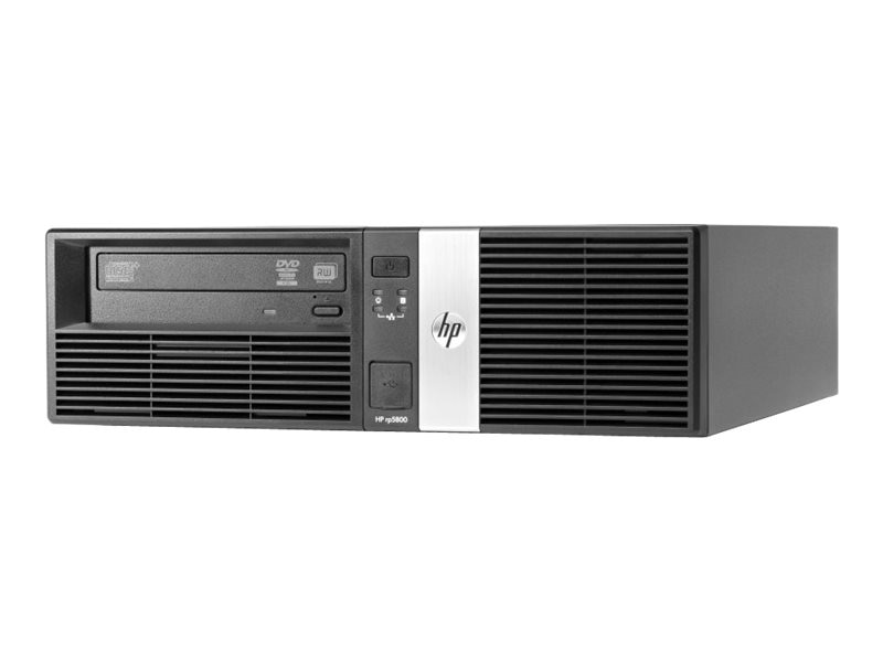 Open Box HP rp5800 G850 3.1GHz 4GB RAM 500GB HDD Win 7 Pro 32-bit, E1Z27UA#ABA, 17107251, POS/Kiosk Systems