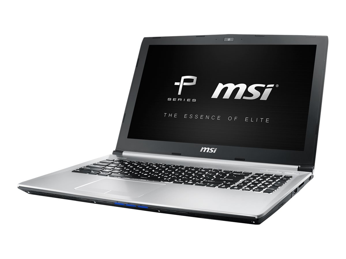 MSI PE60 6QE-1267 15.6 Notebook PC, PE60 6QE-1267
