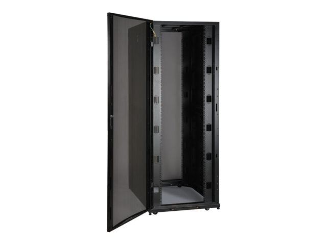 Tripp Lite 48U 30 Wide SmartRack Premium Enclosure, Doors, Side Panels, Shock Pallet, SR48UBWDSP1