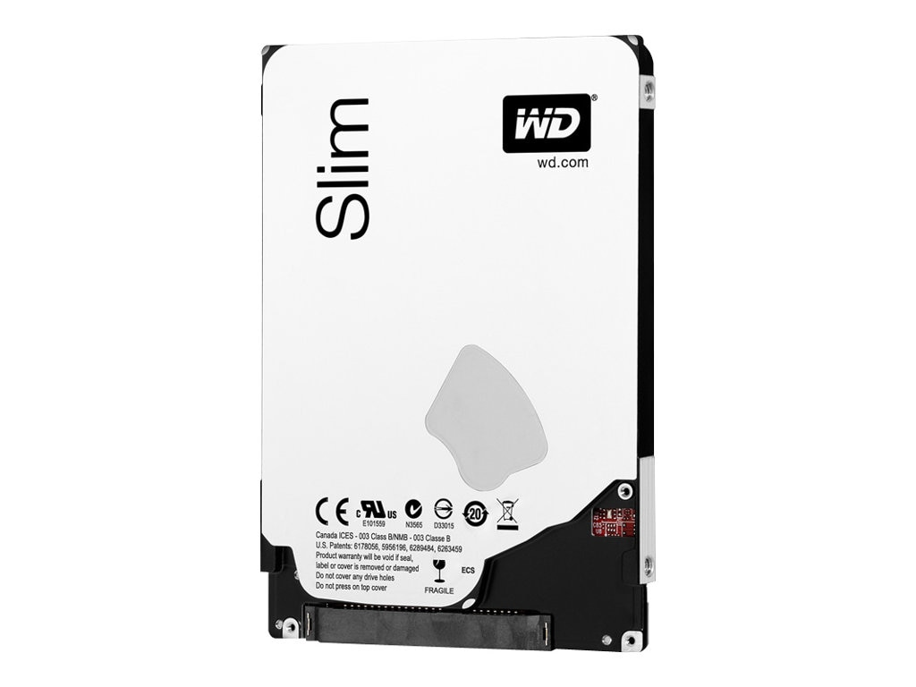 WD 500GB WD Blue SATA 6Gb s 2.5 7mm Internal Hard Drive, WD5000LPVX, 15593654, Hard Drives - Internal