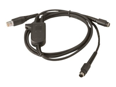 Intermec PS2 KBW Y-Cable, 6.5ft