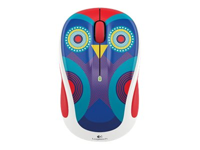 Logitech M325c Wireless Optical Mouse, Olivia Owl, 910-004440, 22900827, Mice & Cursor Control Devices