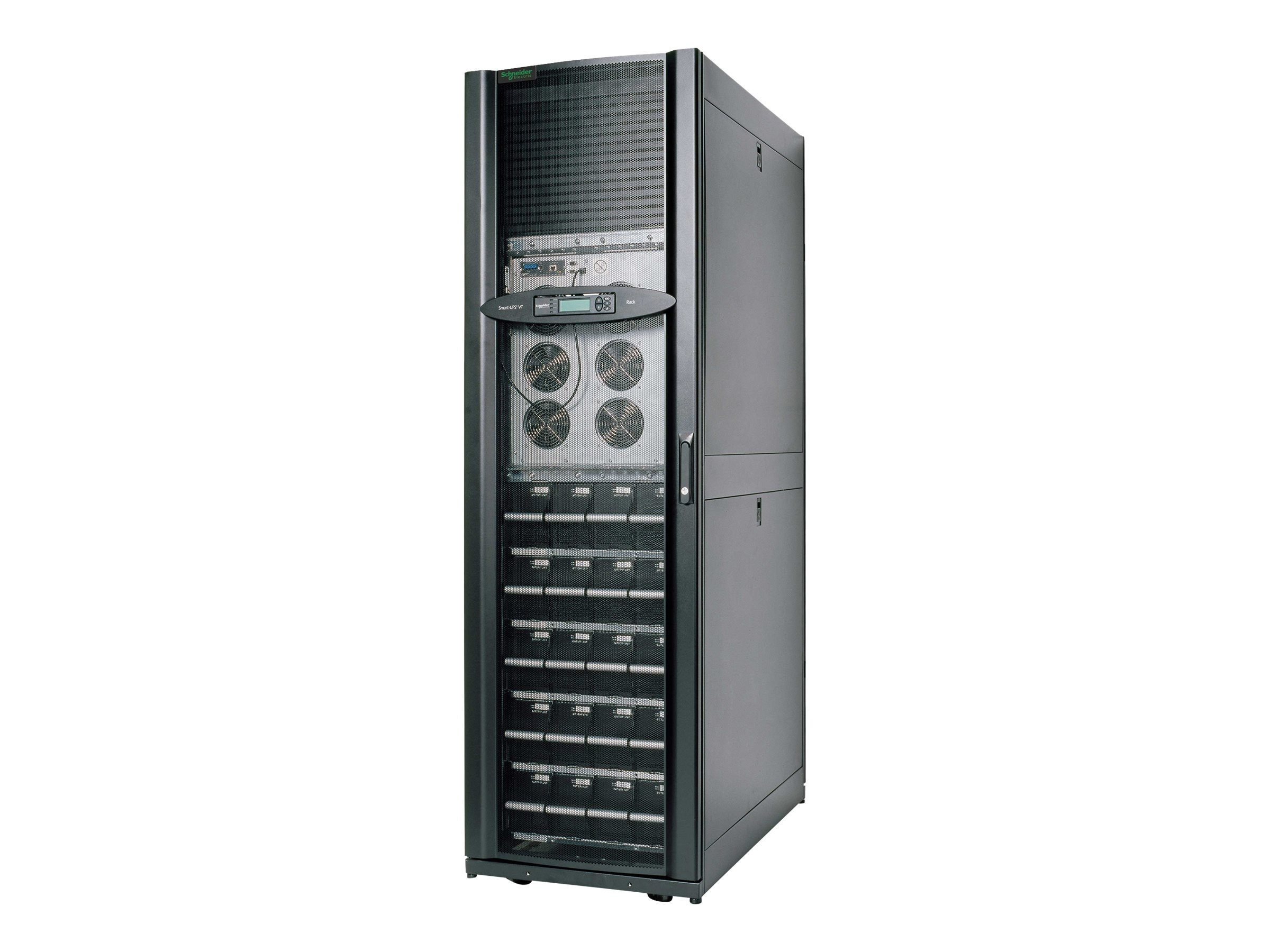APC Smart-UPS VT 30 kVA 208V Rack with (4) Battery Modules Expandable to (5) with PDU, Startup, SUVTR30KF4B5S, 7330002, Battery Backup/UPS