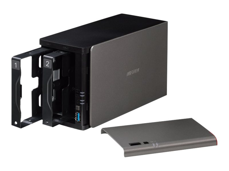 BUFFALO LinkStation 421e Diskless Enclosure, LS421DE