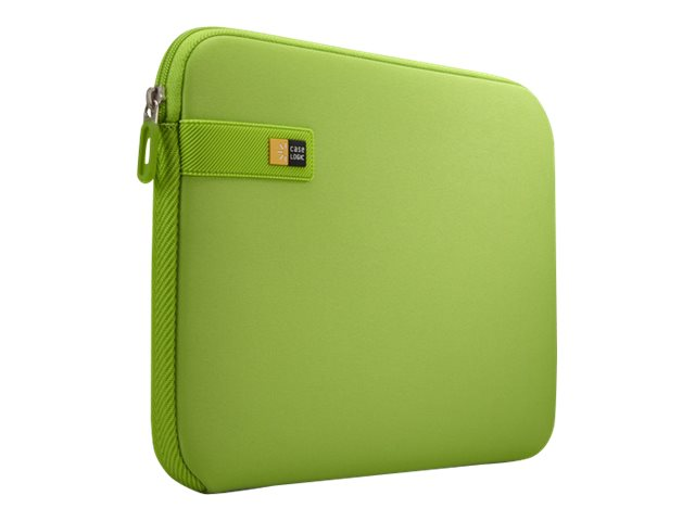Case Logic Chromebook Sleeve for 10-11.6, Lime Green, LAPS111LIMEGREEN, 20867381, Carrying Cases - Notebook