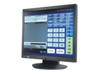 Logic Controls 17 LCD Resistive Touchscreen USB VGA, LE-1017, 11641840, Monitors - LCD